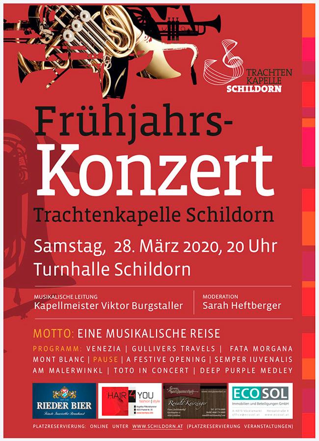Frühjahrskonzert Trachtenkapelle Schildorn 2020